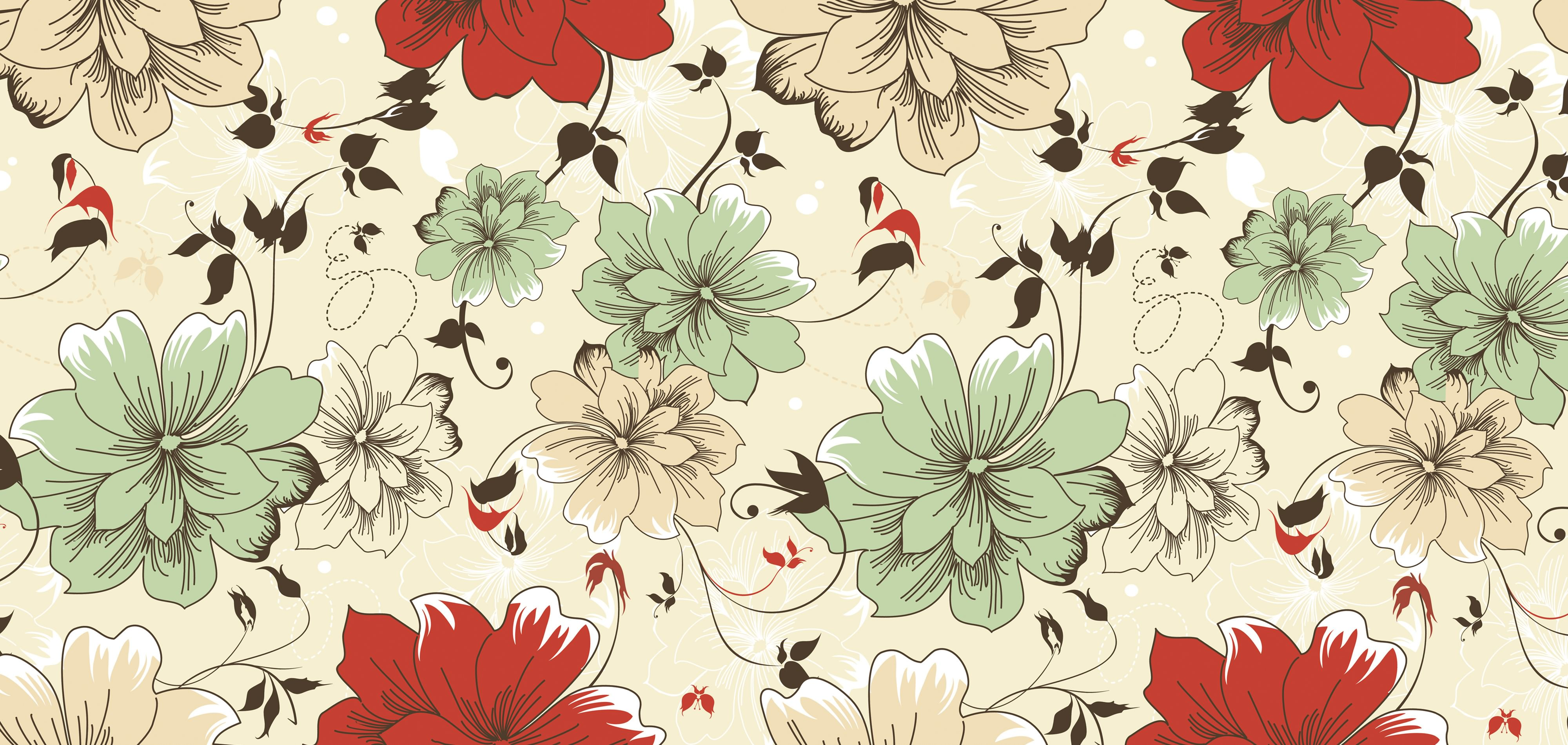 Vintage roses desktop wallpaper