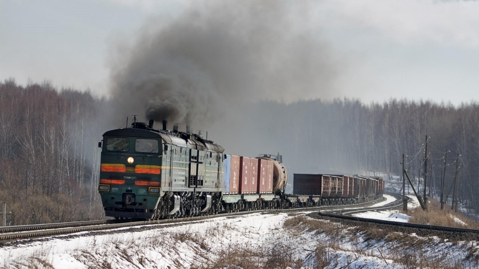 Обои для рабочего стола российские поезда