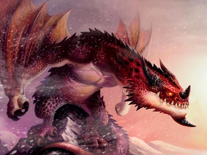 Драконы (66 обоев)