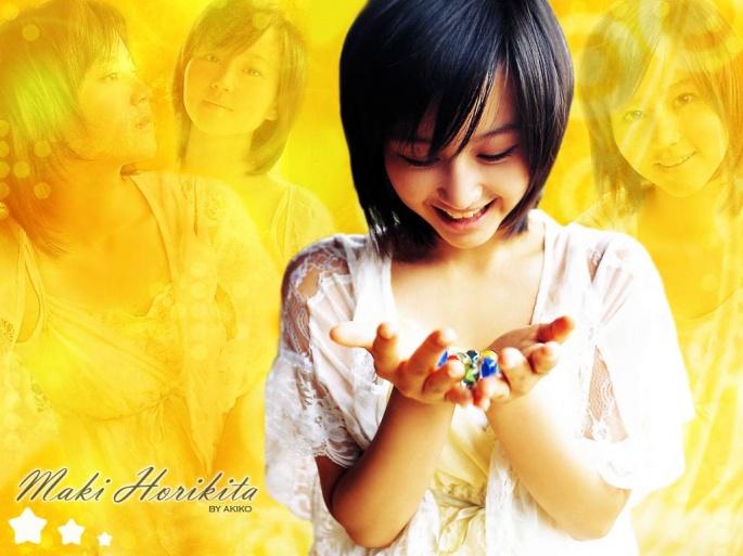 Японские актрисы. Horikita Maki