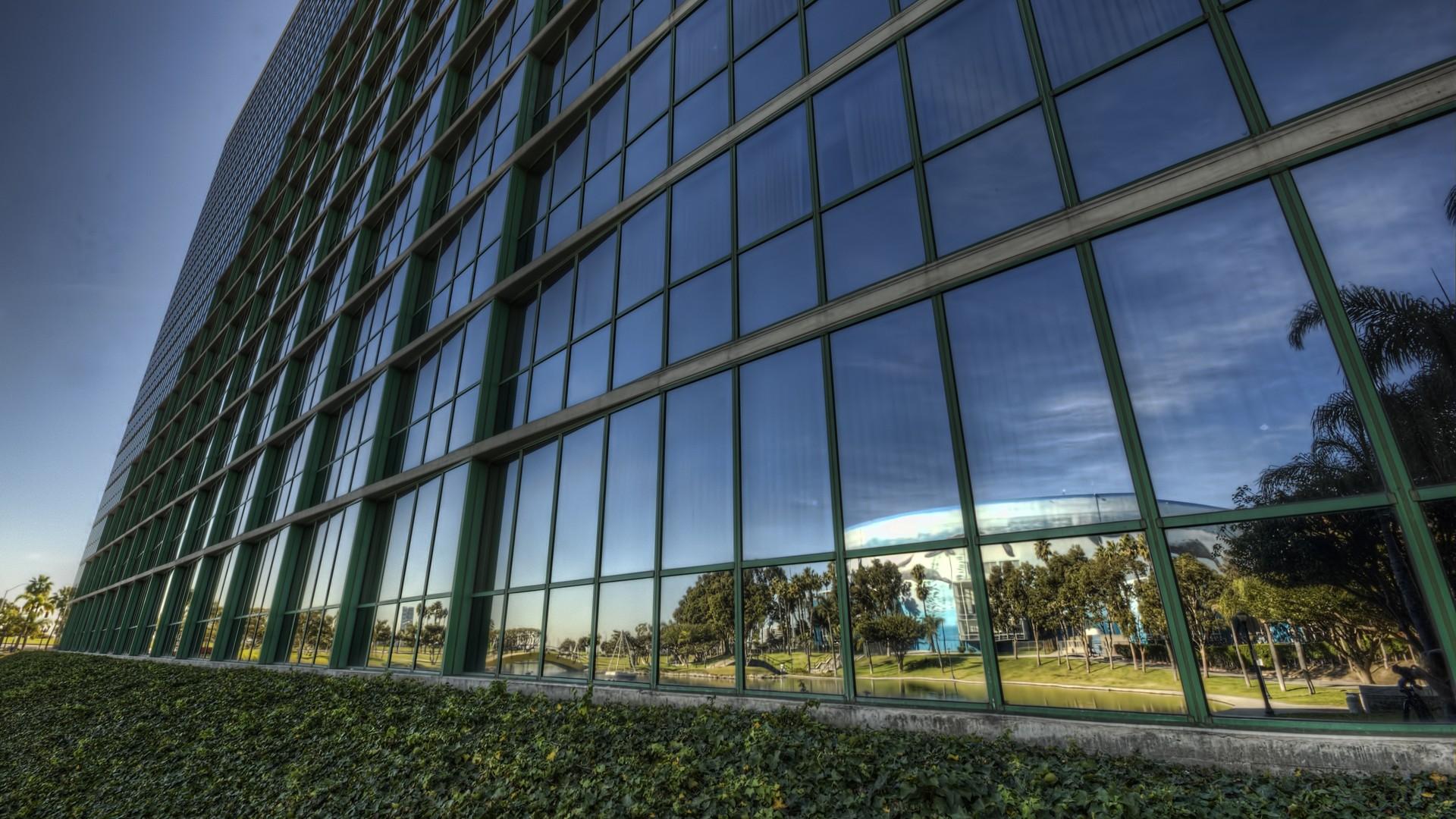 Framed buildings