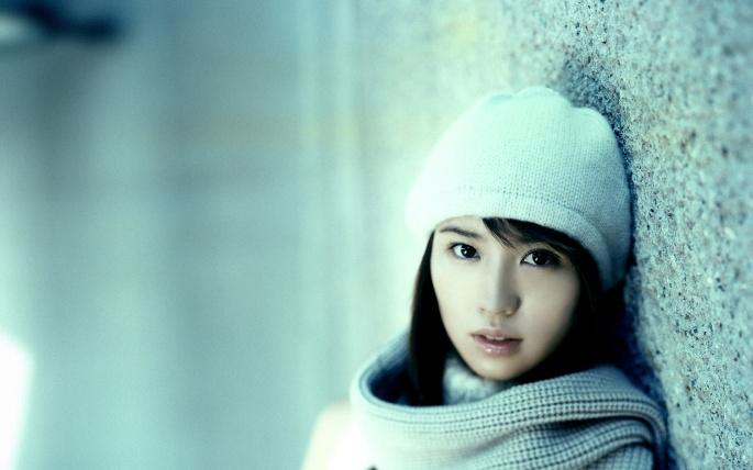 Японские актрисы. Ichikawa Yui (3 обоев)