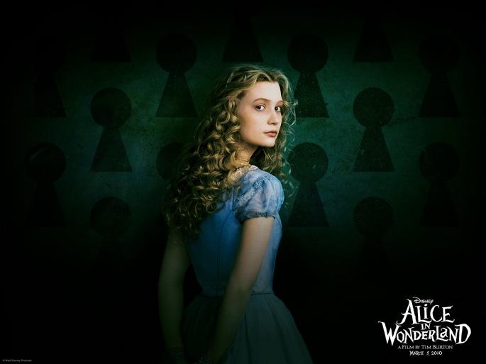 Алиса в стране чудес (21 обоев)