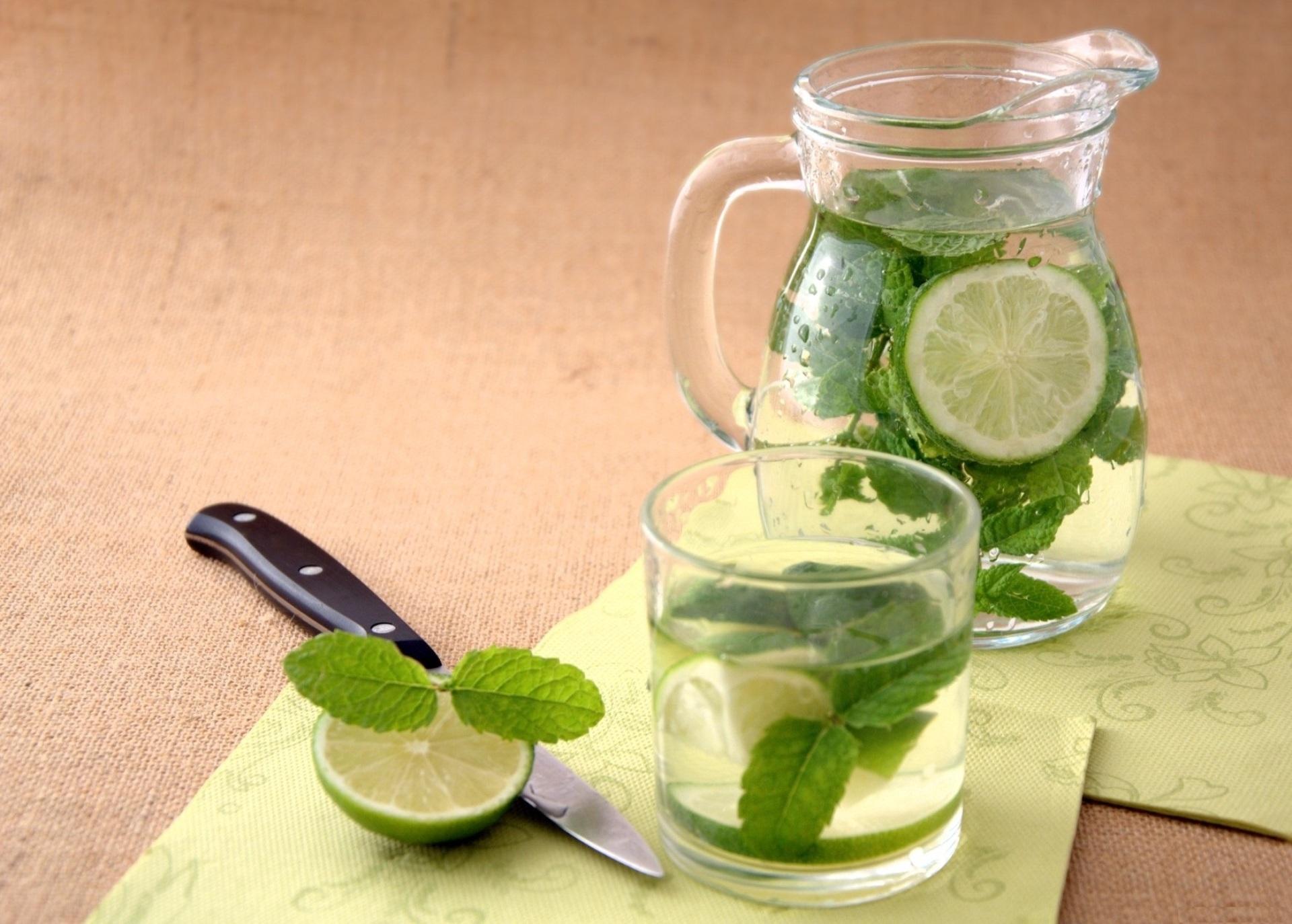 Лимонад из мяты, лайма и лимона в домашних условиях 65