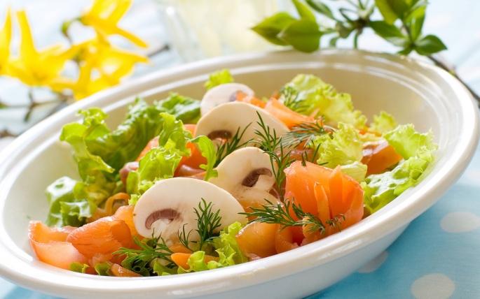 Салаты и супы (40 обоев)
