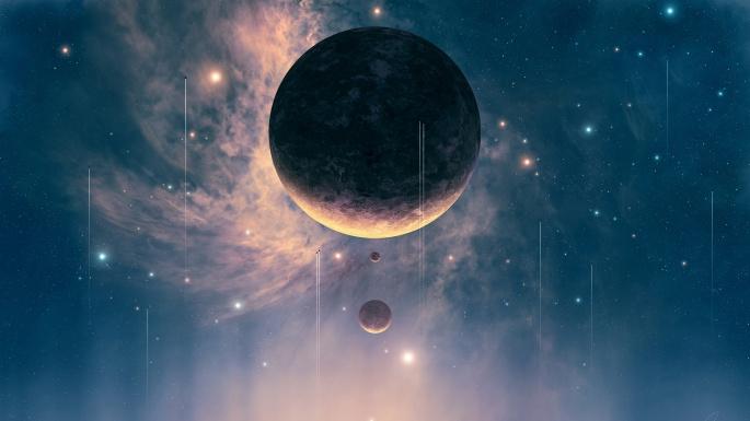 Фантастический космос. Fantastic cosmos wallpapers (100 обоев)
