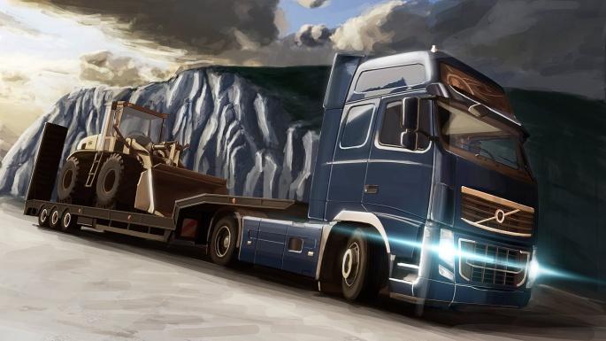 Фуры. Truck (35 обоев)