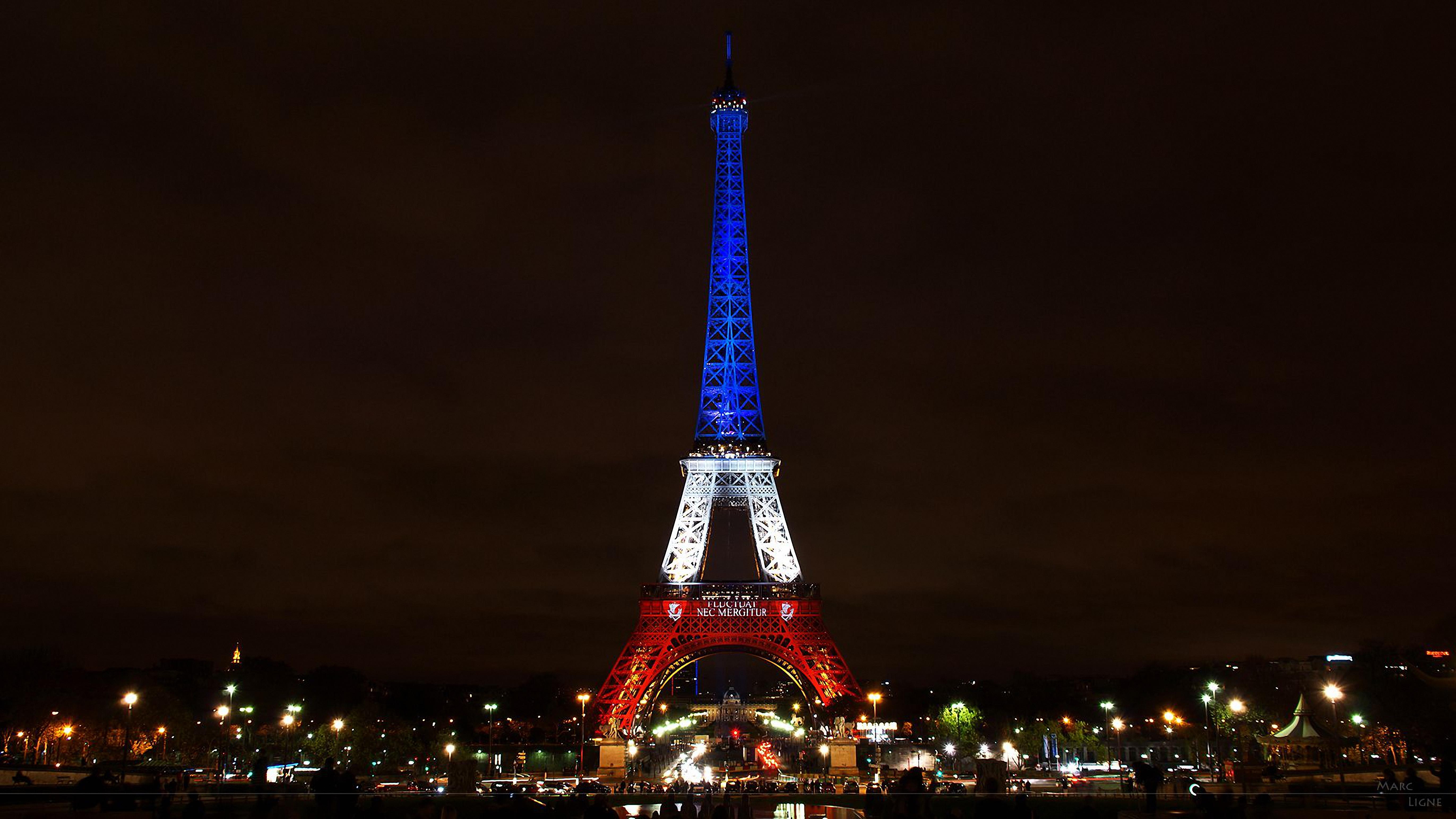 сильны обои на телефон эйфелева башня ночью свет звезд