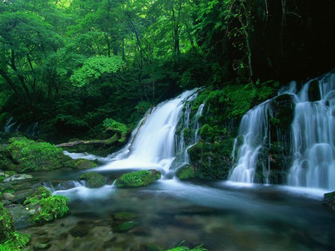 Водопады. Часть 1 (36 обоев)