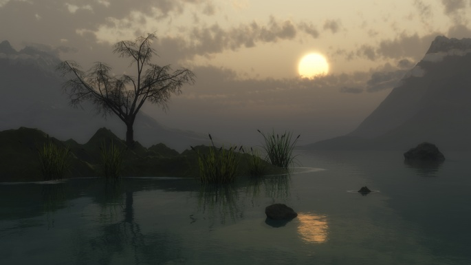 Красивые виды на воду. Часть 2 (49 обоев)