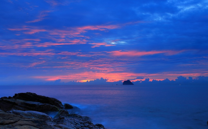 Красивый закат. Часть 1 (139 обоев)