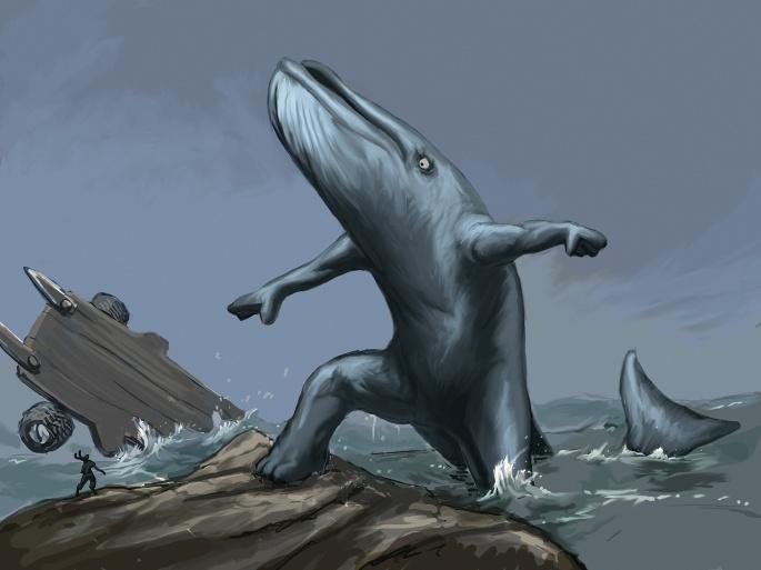 Нарисованное существо. Creature (60 обоев)