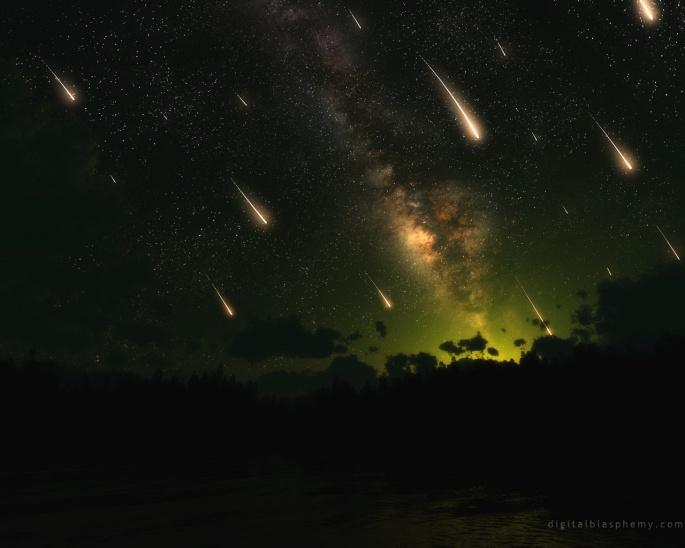 Ночное небо. Night Sky (137 обоев)