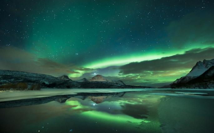 Северное сияние. Northern Lights (103 обоев)