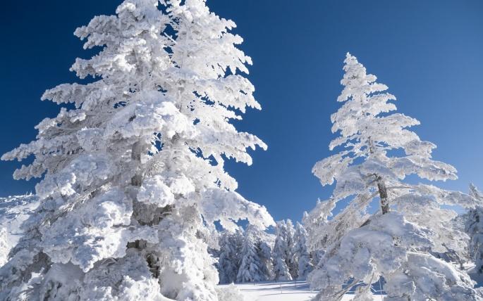 Зимние пейзажи (90 обоев)