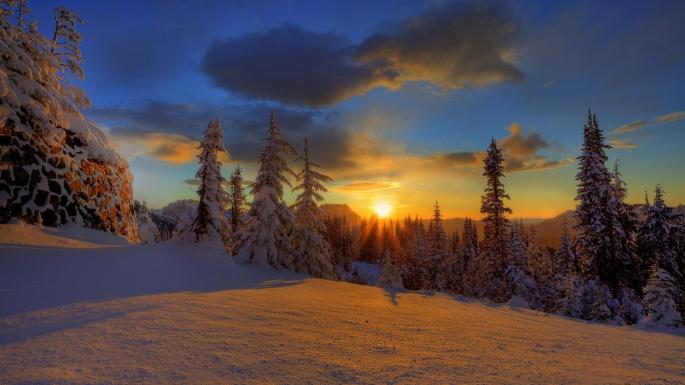 Красивый закат. Часть 4 (125 обоев)