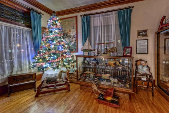 Новогодние елки (34 обоев)
