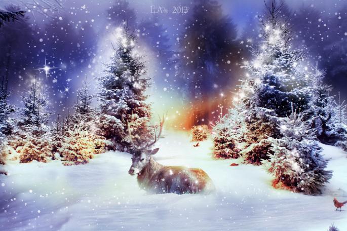 Новогодние обои. Часть 4 (65 обоев)