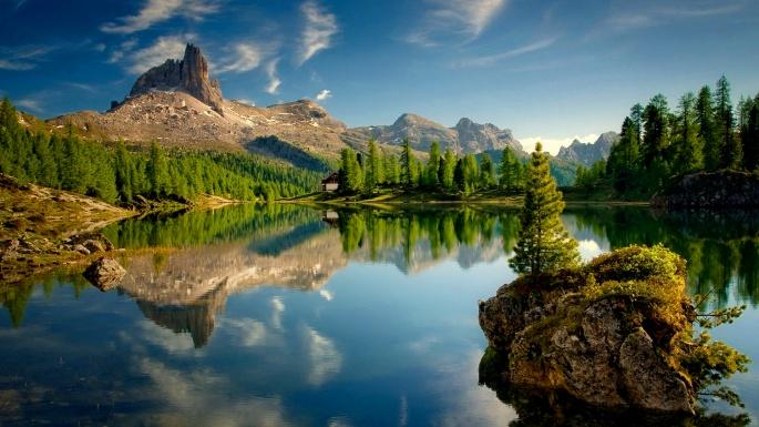 Красивые озера (71 обоев)