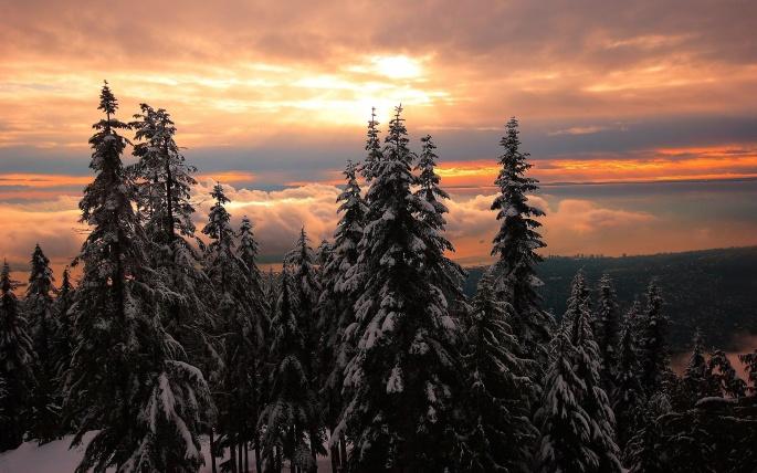 Красивый закат. Часть 5 (138 обоев)