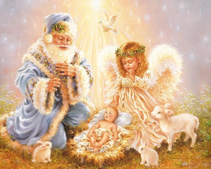 Новогодние обои. Часть 5 (58 обоев)
