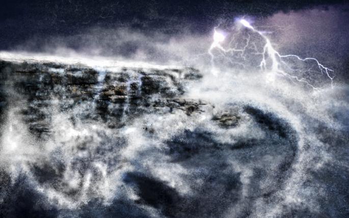 Молния. Часть 2 (55 обоев)