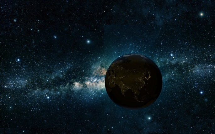 Sci Fi Млечный Путь (58 обоев)