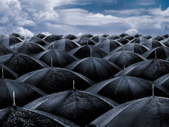 Зонтики (30 обоев)