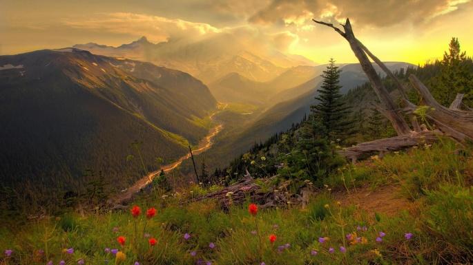 Красивый закат. Часть 7 (138 обоев)