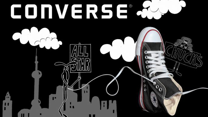 Модная американская обувь Converse (40 обоев)