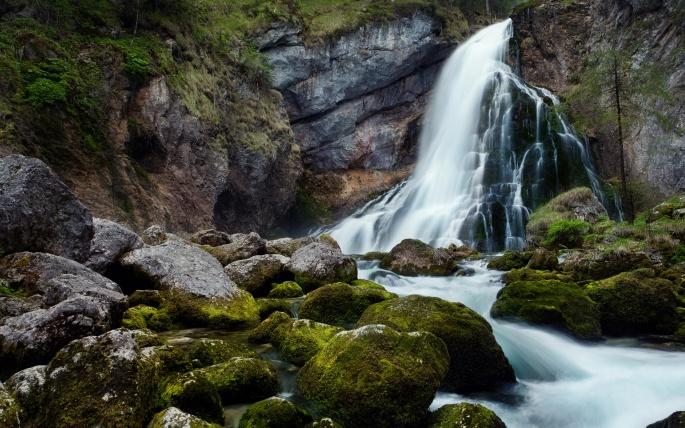 Водопады. Часть 7 (37 обоев)