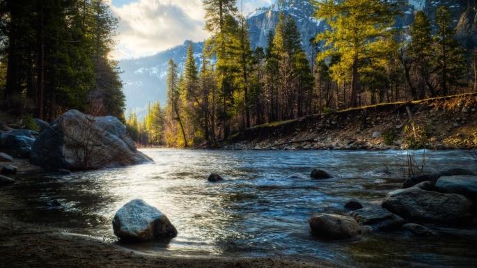 Красивые виды на воду. Часть 13 (166 обоев)