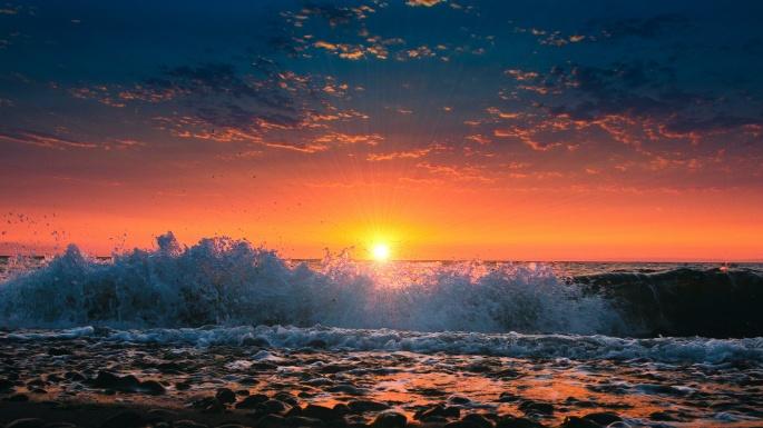 Морские волны (60 обоев)