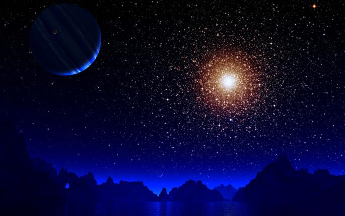 Ночное небо. Часть 4 (90 обоев)