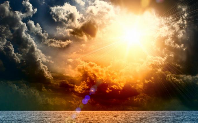 Солнечный луч (60 обоев)