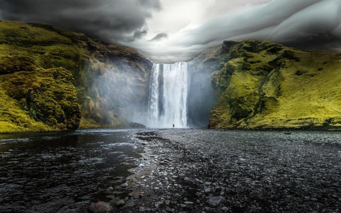 Водопады. Часть 8 (40 обоев)