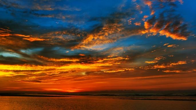 Красивый закат. Часть 9 (74 обоев)