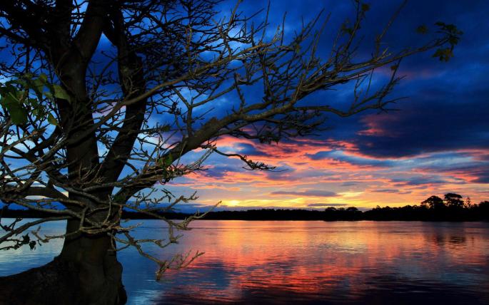Красивый закат. Часть 10 (69 обоев)