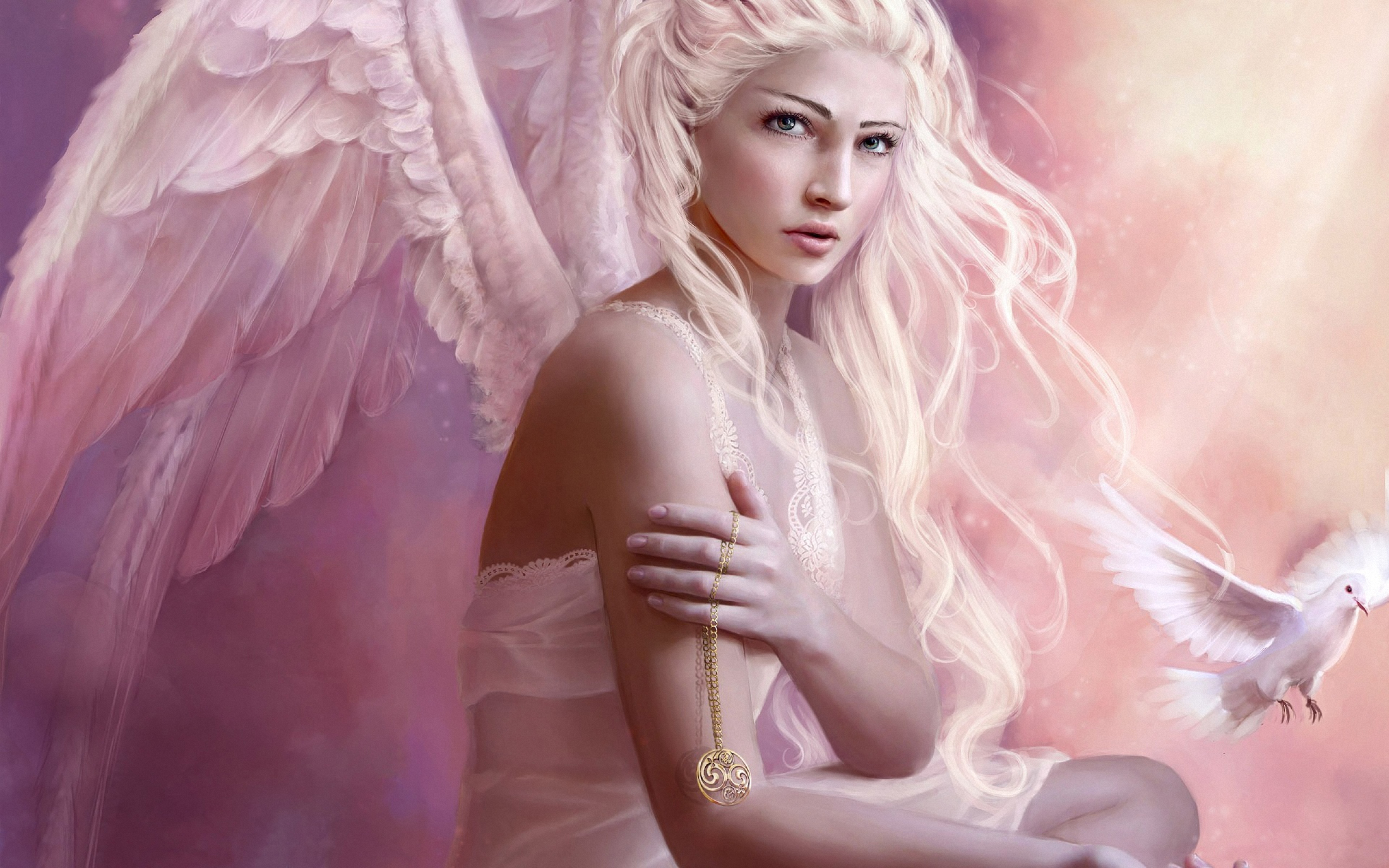 Обои Для Экрана Ангелы Девочки