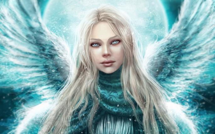 Ангелы. Angel (94 обоев)