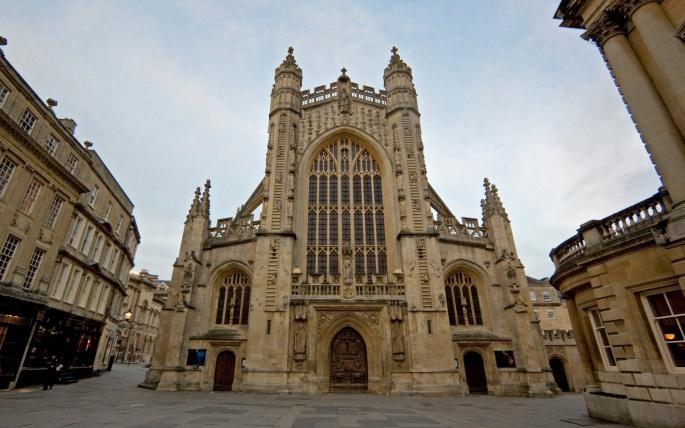 Батское аббатство. Bath Abbey (34 обоев)