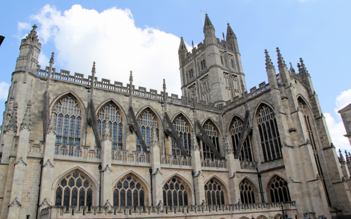 Батское аббатство. Bath Abbey (34 обоев)