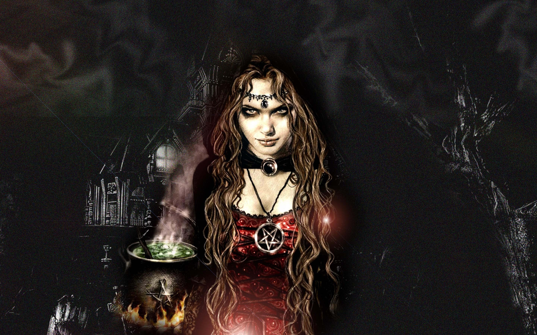 Обои на рабочий стол красивые ведьмы