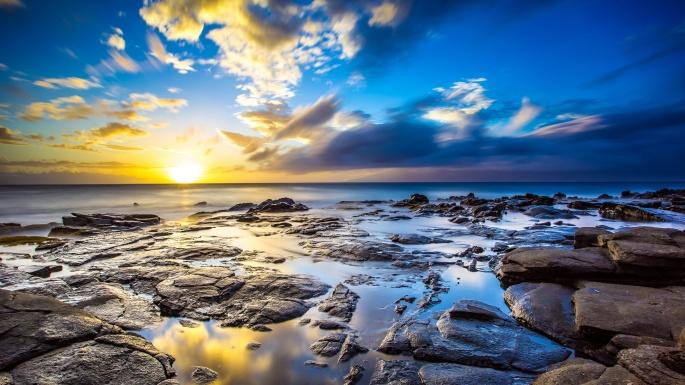 Вода и камень. Water and stone (59 обоев)