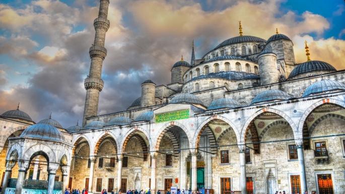 Голубая мечеть. Sultan Ahmed Mosque (44 обоев)