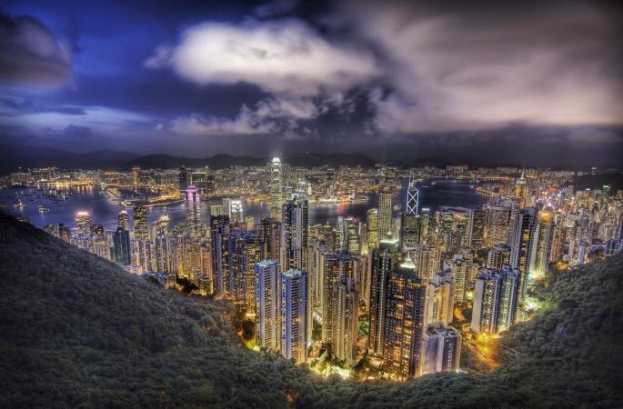 Гонг-Конг. Hong Kong (69 обоев)