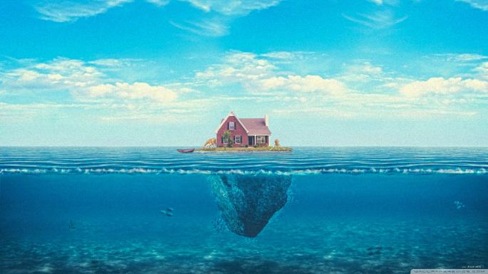Коттеджи в остров Храни у моря