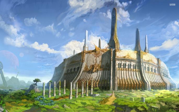 Замки фэнтези. Fantasy Castle (129 обоев)