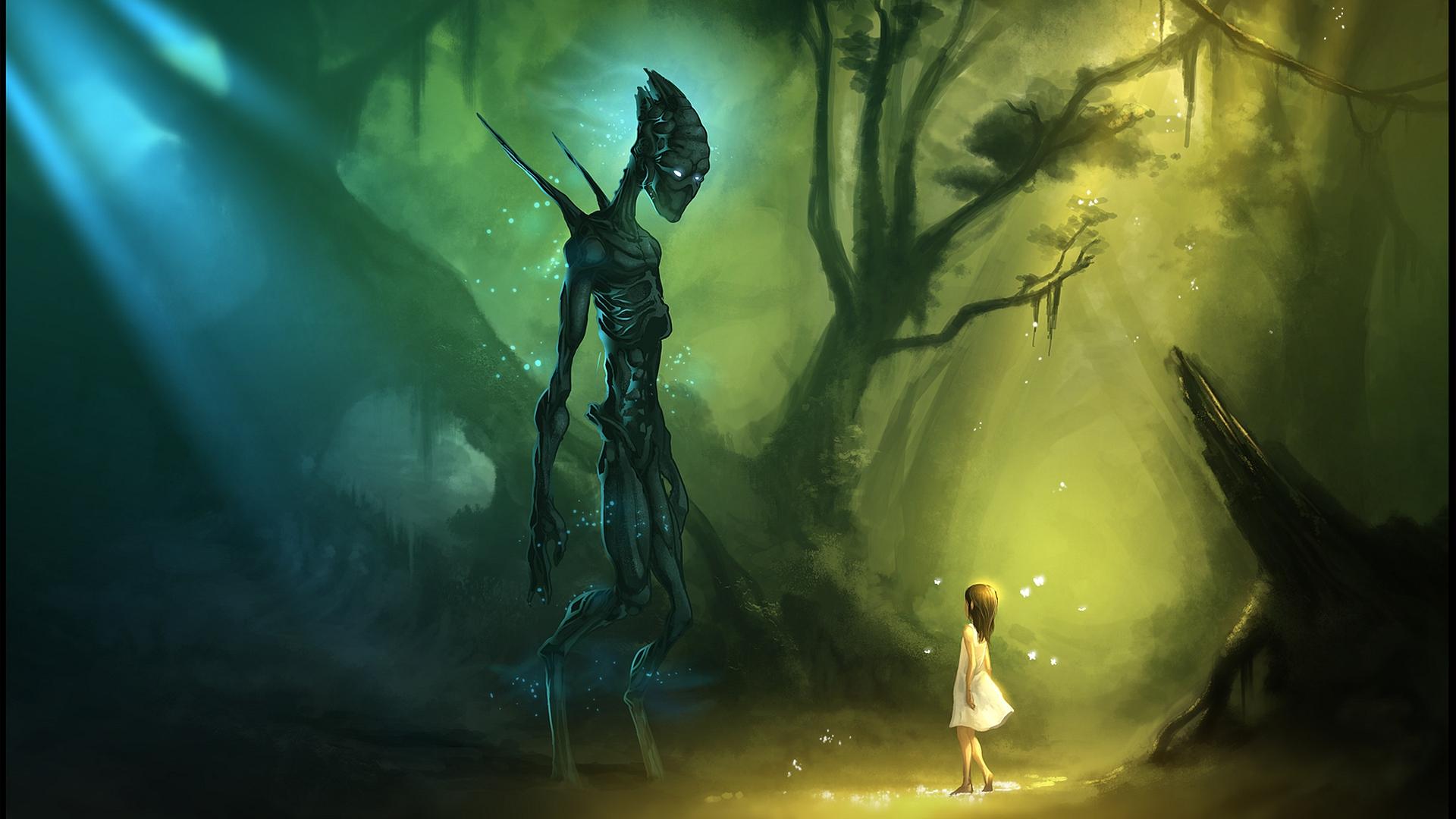 3d alien monster girl naked images