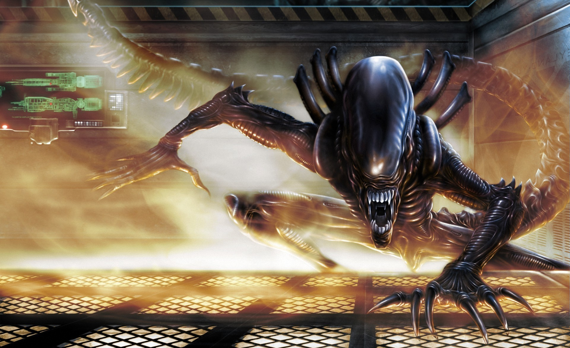 Aliens movie wallpaper